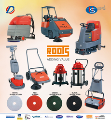 Roots Wizzard Mini Scrubber Machine in Gcc from DAITONA GENERAL TRADING (LLC)