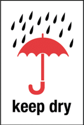 keep Dry PVC Sticker For Package Handling from CLEAR WAY BUILDING MATERIALS TRADING