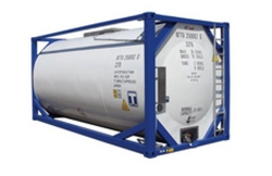 Stainless steel ISO Tank from AMFICO AGENCIES PVT. LTD.