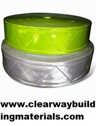 Reflective tape White & Yellow from CLEAR WAY BUILDING MATERIALS TRADING