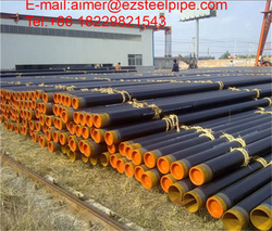 Seamless black carbon API 5 L steel tube  from EZ STEEL PIPE INDUSTRIAL CO., LTD