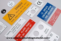 All Types Of Electrical & Safety  Engraving from CLEAR WAY BUILDING MATERIALS TRADING