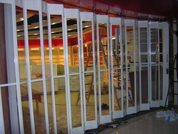 Sliding Folding Polycarbonate doors from ARABIAN GULF DOOR EST