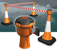 Crowed Control Belt For Traffic Cone from CLEAR WAY BUILDING MATERIALS TRADING