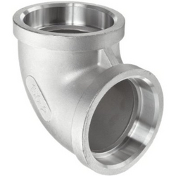 90 Deg Elbow, SW,NPT from CHOUDHARY PIPE FITTING CO,