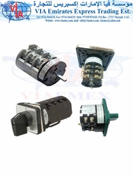 ELECTRIC  SWITCH ROTARY / CHANGE-OVER SWITCHES  from VIA EMIRATES EXPRESS TRADING EST
