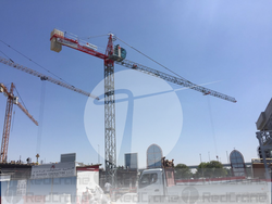 SPANISH MANUFACTURER TOWER CRANE SAEZ S46 REFURBIS from REDCRANE LOADING LIFTING RENTAL EQUIPMENT LLC