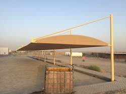 Parking shades in UAE from AVENTIS GENERAL MAINT. CONTRACTING