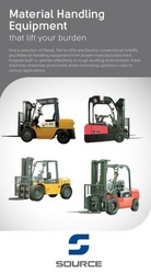 FORKLIFT SUPPLIERS from SOURCE HEAVY MACHINERY EQUIPMENT CO.