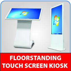LCD Touch Screen Kiosk supplier in uae from MASONLITE SIGN SUPPLIES & EQUIPMENT