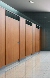 Phenolic Toilet Partition Water-proof HPL Toilet Cubicle from HANGZHOU KCROWN CONSTRUCTION & DECORATION MATERI