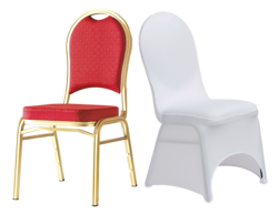 Banquet chairs from ROYAL FALCON EVENTS MANAGEMENT SERVICES LLC