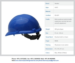 Safety Helmet Vaultex,Metalift,Deltaplus,MSA,3M from CLEAR WAY BUILDING MATERIALS TRADING