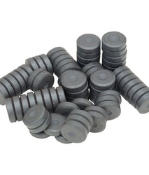10 X 3mm Ceramic Disc Magnets in uae from