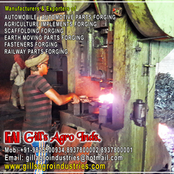 Agriculture Parts Forgings from GILLS AGRO INDUSTRIES