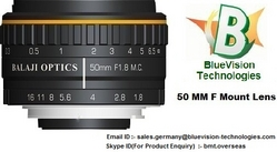 35 MM F MOUNT LENSES & 50 MM F MOUNT MACHINE VISION LENSES from BLUEVISION TECHNOLOGIES EUROPE GMBH