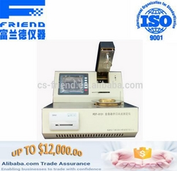 FDT-0131 Automatic open cup flash point tester from CHANGSHA FRIEND XPERIMENTAL ANALYSIS INSTRUMENT CO.LTD.