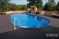 WPC Decking Supplier in Dubai, UAE from ZAYAANCO