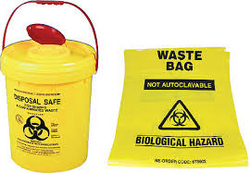 Bio Hazard Bag Yellow 45X60 from AVENSIA GENERAL TRADING LLC