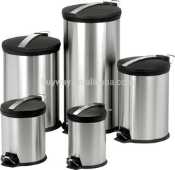 stainless steel dust bin from ADEX