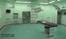 Hospital Vinyl Flooring Contractors in Dubai, UAE from ZAYAANCO