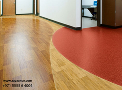 Commercial Vinyl Flooring Contractor in Sharjah, UAE from ZAYAANCO