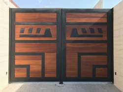 Automatic Swing Gate  from AL RAWAYS TENTS & CAR PARKING SUNSHADES