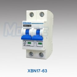 XBN7-63 6ka mcb 2 pole mini circuit breaker L7 mcb from YUEQING MORELE IMPORT & EXPORT CO.,LTD