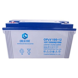 OPzV tubular gel battery from CREATIVE BATTERIES CO.,LTD.