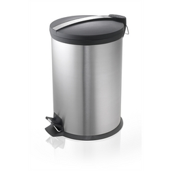 STEEL PEDAL BIN BLACK TOP from AVENSIA GENERAL TRADING LLC