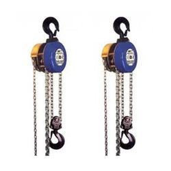 Indef Chain Pulley Block from B. V. TRANSMISSION INDUSTRIES