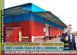 Commercial Warehouse for rent lease in Ludhiana Punjab from OBRO LOGISTICS