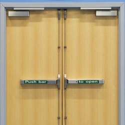 Fire Rated Wooden Doors from MAXWELL AUTOMATIC DOORS CO LLC