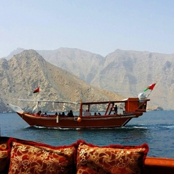 Musandam dhow cruise from KHASAB SEA TOURS