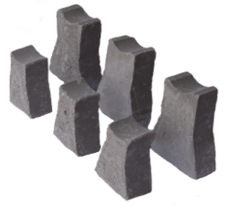 Concrete cover block supplier in Abu Dhabi from ALCON CONCRETE PRODUCTS FACTORY LLC