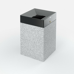 Concrete litter bin supplier in UAE from ALCON CONCRETE PRODUCTS FACTORY LLC