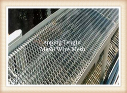 Raised Mild Steel Expanded Walkway Mesh  from ANPING TENGLU METAL WIRE MESH CO.LTD./INFO@STAINLESSSTEELWIREMESHFACTORY.COM