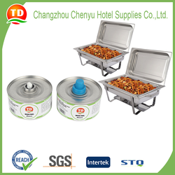 New 24 pc case 6-hour wick chafing fuel cans from CHANGZHOU CHENYU HOTEL SUPPLIES CO., LTD.