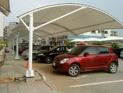 Car Parking Shed from SAMURAI METAL & STEEL WORKS