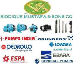 PUMPS from SIDDIQUE MUSTAFA & SONS LLC
