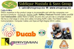 Wire & Cables  from SIDDIQUE MUSTAFA & SONS LLC