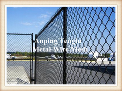 Airport Safety Mesh Fence from ANPING TENGLU METAL WIRE MESH CO.LTD./INFO@STAINLESSSTEELWIREMESHFACTORY.COM
