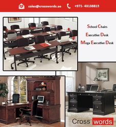 Regular Office Desk from CROSSWORDS GENERAL TRADING LLC