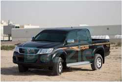 B6 ARMORED TOYOTA HILUX DOUBLE CABIN from DAZZLE UAE