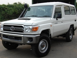 Toyota Land Cruiser Hardtop VDJ78L Right Hand Drive Brand New Cars from DAZZLE UAE