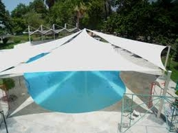 Swimming Pool Shades Suppliers in Dubai and UAE. from CAR PARK SHADES ( AL DUHA TENTS 0568181007 )
