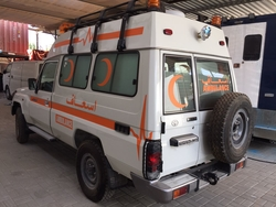 Ambulance Manufacturers & supplier Toyota from DAZZLE UAE