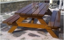 Wooden Picnic Table from OCEAN INTERNATIONAL FZC