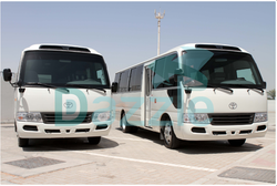 Toyota Coaster Armored  from DAZZLE UAE
