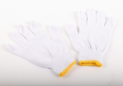 COTTON KNITTED GLOVES SUPPLIER UAE from MURTUZA TRADING